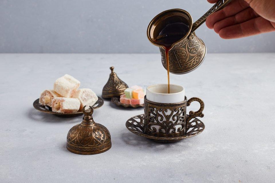 cafetera turca cezve o ibrik